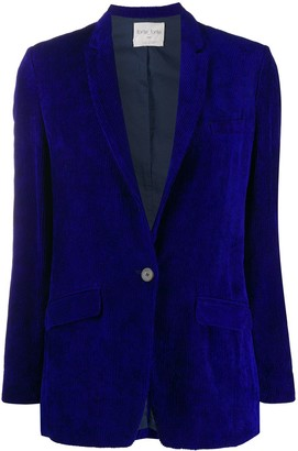 Forte Forte Single-Breasted Fitted Blazer