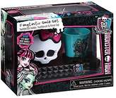 Monster High 3 Piece Smile Set: Toothbrush Holder, Toothbrush and Rinse Cup