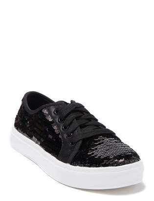 Chinese Laundry Josi Sequin Lace-Up Sneaker