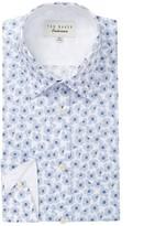 Ted Baker Farnley Trim Fit Dress Shirt