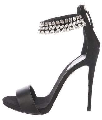 Giuseppe Zanotti Embellished Ankle Strap Sandals