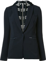 Veronica Beard layered hooded blazer