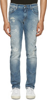 Dolce & Gabbana Blue Stretch Denim Jeans
