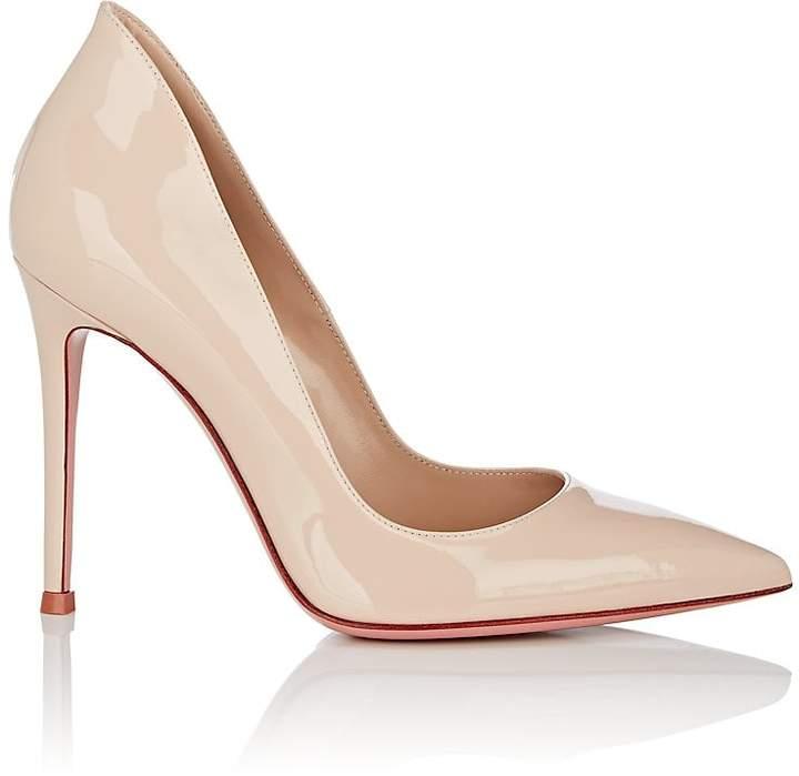 Gianvito Rossi Women's Ellipsis Patent Leather Pumps