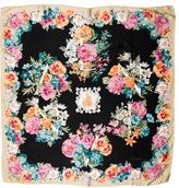 Lanvin Floral Print Square Scarf