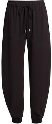 Chloé Crepe Jogger Pants