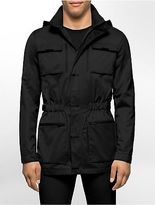 Calvin Klein Mens Classic Fit 4 Pocket Water Repellant Utility Jacket