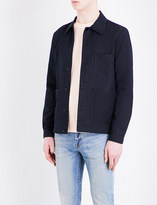 Paul Smith Workwear linen and cotton-blend jacket