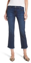 KUT from the Kloth Women's Reese Frayed Ankle Jeans
