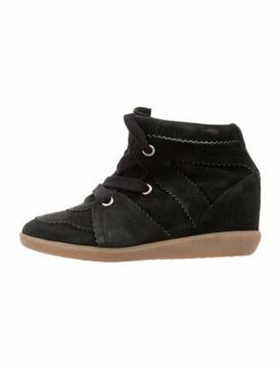 Etoile Isabel Marant Bobby Wedge Sneakers Black