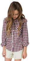 O'Neill Girl's Tahoe Plaid Flannel Shirt