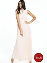 TFNC Cassie Maxi Dress – Nude