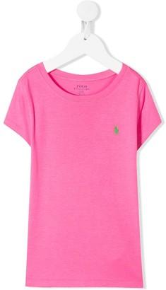 Ralph Lauren Kids embroidered logo T-shirt