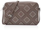 MICHAEL Michael Kors Jet Set Travel Large Diamond Grommet East/West Crossbody
