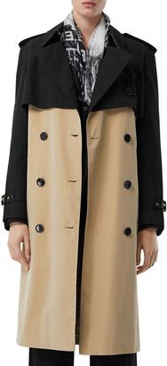 Burberry Deighton Two-Tone Trench Coat