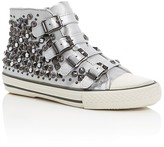 Ash Girls' Viper Metallic Embellished Buckle High Top Sneakers - Little Kid, Big Kid