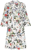Erdem Reagan floral print pleated dress