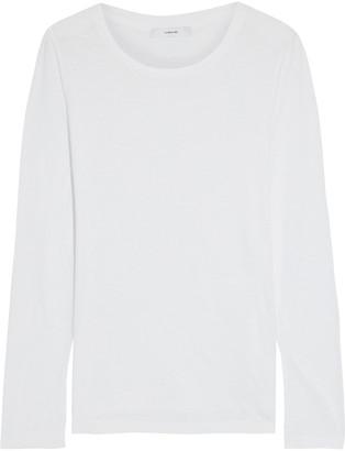 Vince Slub Pima Cotton-jersey Top