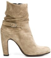Officine Creative slouch ankle boots - women - Leather/rubber - 36