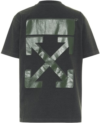 Off-White Logo cotton-jersey T-shirt