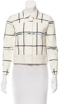 Tory Burch Geometric Print Casual Jacket
