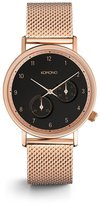 Komono The Walther Watch - Rose Mesh - 40mm