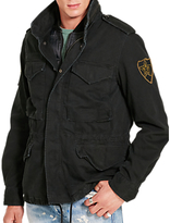 Denim & Supply Ralph Lauren Cotton Field Jacket, Polo Black