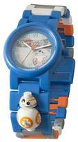 Lego Star Wars 8020929 BB-8 Kids Minifigure Link Buildable Watch | blue/orange| plastic | 28mm case diameter| analogue quartz | boy girl | official