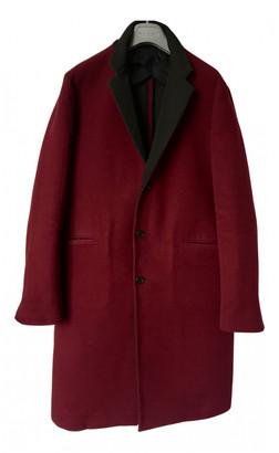 Marni Burgundy Wool Coats