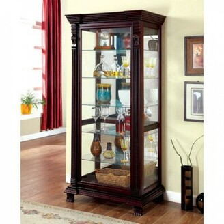 Darby Home Co Fackler Curio Cabinet Darby Home Co