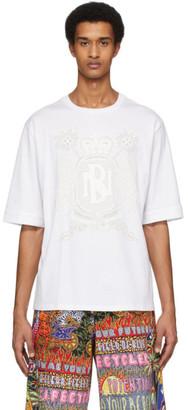 Neil Barrett White Artist T-Shirt