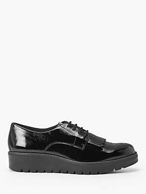 John Lewis & Partners Designed for Comfort Fifi Patent Leather Brogues