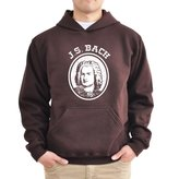 Eddany JS Bach Portrait Hoodie