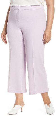 1 STATE Kick Flare Crop Pants (Plus Size)