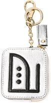 Anya Hindmarch coin purse keyring - women - Lamb Skin - One Size