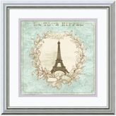 Fischer David Tour de Eiffel Framed Print Wall Art