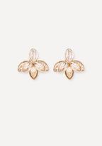 Bebe Crystal Flower Ear Jackets