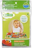 Neat Solutions Sesame Street Biodegradable Table Topper Disposable Stick-on Placemat 30-Count