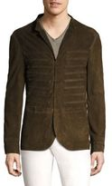 John Varvatos Hook Leather Jacket