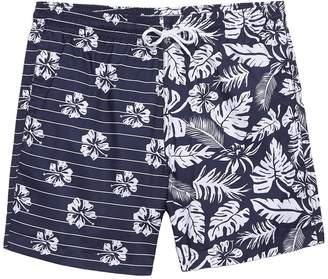 Trunks Surf And Swim Co. Sano Print Block Swim Trunks