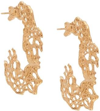 Loveness Lee Chollas hoop earrings
