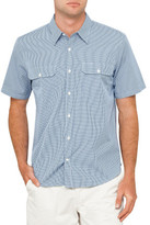 Drizabone Driza-Bone Stanley Two Pocket Gingham S/S Shirt