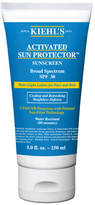 Kiehl's Activated Sun Protector Sunscreen Aqua Lotion For Face and Body Broad Spectrum SPF 30