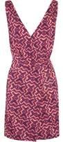 Vix Kara Ava Printed Stretch-Jersey Mini Dress