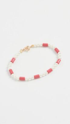 Roxanne Assoulin On Imitation Pearl Bracelet