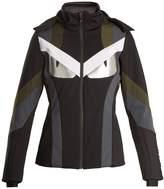 Fendi Bag Bugs Wonderski fur-trimmed ski jacket