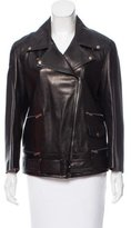 Gucci Leather Moto Jacket