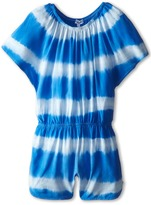 Splendid Littles Tie-Dye Stripe Romper (Little Kids)