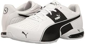 Puma Cell Surin 2 FM White Black 1) Men's Lace up casual Shoes