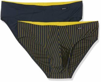 Skiny Men's Power Line Brasil Slip 2er Pack Boxer Briefs